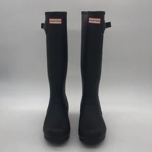 Original Hunter Tall Black Rain Boots 10US 8UK